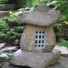 stone age boulder lantern