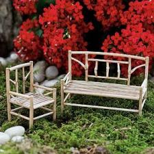 a fairy bench