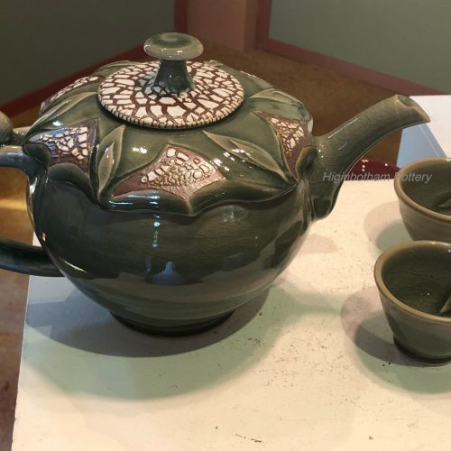 Celadon Crackle Teapot