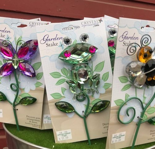 Jeweled Garden Stakes